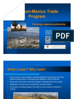 Microsoft Power Point - Tucson-Mexico Trade Program- 080911