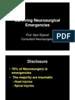 Surviving Neurosurgical Emergencies