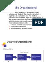 Desarrollo 0rganizacional
