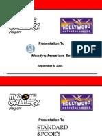 Movie Gallery 2005 (09-06) Agency Presentation