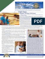 August 15, 2011 Newsletter