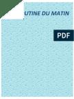 Routine Du Matin