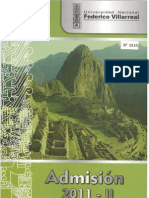 Prospecto UNFV 2011-II