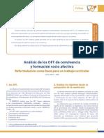 Analisis de Los OFT de Convivencia y Formacion Socio Afectiva