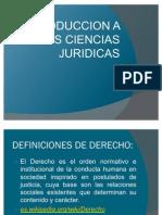 Exp. Int. a Las Ciencias Juridicas