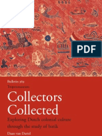 Collectors Collected- Exploring Dutch Colonial Culture Through the Study of Batik