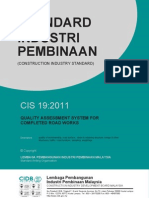 Standardcis195!5!11 (Quality Assessment System for Completed Road Works)