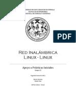 Red Inalámbrica entre Linux - Linux