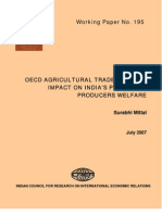 Agricultural Trade and Impact on Prices and Producers in India