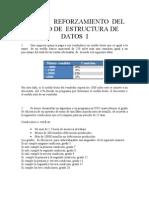 Primer Reforzamiento Del Curso de Estructura de Datos i
