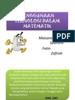 Penggunaan Teknologi Dalam Matematik