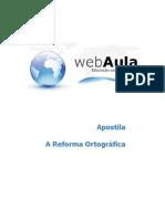 Apostila Reforma Ortografica Aperf
