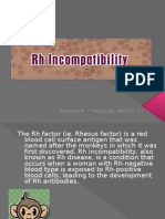 Rh Incompatibility