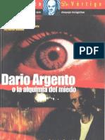 Dario Argento o la Alquimia del Miedo [Salvador Bernabé]