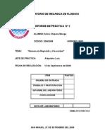 LabOratorio de Mecanica de Fluidos1- Reynolds y Viscosidad Lizita (Ex 1 y 2)