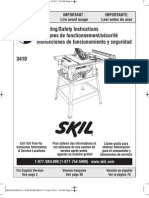 Skil Table Saw Owners Manual