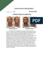 Copper Thiefs