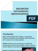 Balanced Occlusion CD 2