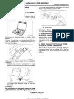 Subaru Select Monitor