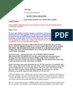 BellistivOcwen Bifurcation Unsecuredcomments