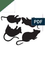 Creepy Mice Template