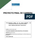 Modelo de Informe Memoria de Calculo