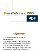 Hematinics and EPO