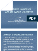 Distributed Databases Yingying