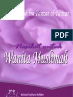 Nasihat Untuk Wanita Muslimah