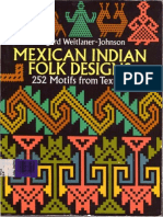 Mexican Indians Folk Designs