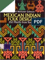 Mexican Indians Folk Designs
