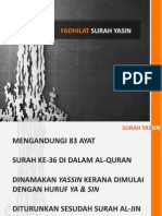 Fadhilat Yasin