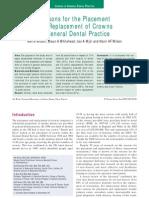 Crowns in General Dental Practice