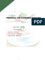 Consumer Behavior Proposal Pho 24