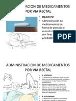 Diap.adm de Med Por via Rectal