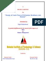 Cashflow Project