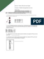 Examen – Poleas y Palancas
