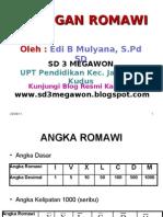 Bilangan Romawi - Sd 3 Megawon