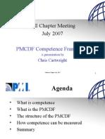 Canberra Chapter Presentation July 2007