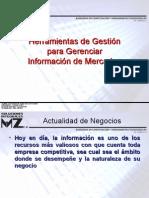Herramientas de Gestion para Gerenciar Informacion de Mercadeo - Javier Muñoz