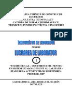 Asigurarea Calitatii in Constructii - Lucrarea 2
