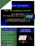 Luas Daerah Jajar Genjang - SD 3 Megawon