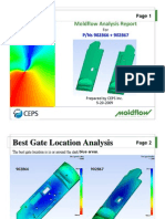 Sample Moldflow Report