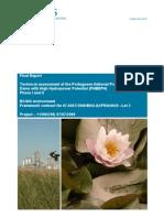 Relatório da ARCADIS sobre o Programa Nacional das Barragens
