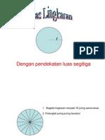 Luas Lingkaran - SD 3 Megawon