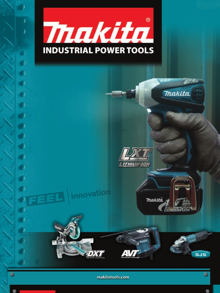 Makita 2010 Catalogfinal_crop   Drill   Battery Charger on