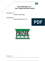 Final Report of Prime Bank