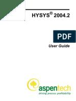 Aspen Hy Sys User Guide