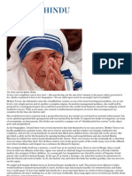 The Mystery of Mother Teresa