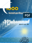 1000 Sunnah Per Day & Night [English Language]